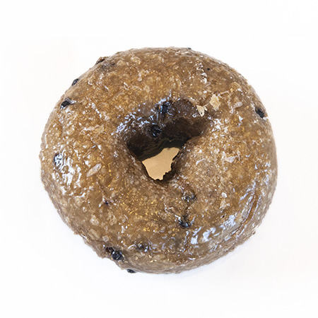 blueberry cake donut