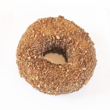 crumb cake donut