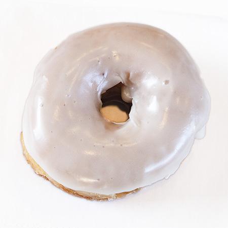 vanilla glazed donut